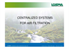 Special Centralised Filtration Air Systems For Airborne Mists And Vapours Datasheet