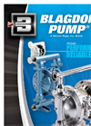 Blagdon Pump - Air Operated Double Diaphragm Pumps Brochure