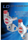 Williams Milton Roy - Model CLD Series - Pneumatic Diaphragm Pumps Datasheet