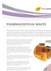 Pharmaceutical Waste Disposal Brochure
