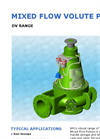 Model DV - Submersible Volute Pump Brochure