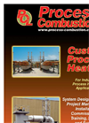Process Combustion - Custom Process Heaters - Brochure