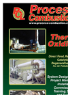 Process Combustion - Thermal-Oxidiser - Brochure