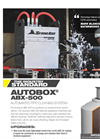 AutoBox - Model ABX-500 - Portable Air Powered Hose Control Device Brochure