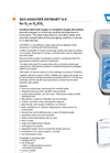 Oxybaby Mobile Hand Held Gas Analyser Brochure