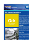 Odr3 - Neutralising Additives Data Sheet