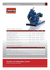 Model P Classic Plus - Hose Pumps - Dry Running System Brochure
