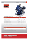 Model P Classic Plus Twin - Hose Pumps - Dry Running System Brochure
