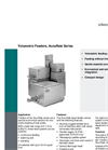 AccuRate - Model Series Feeder - Volumetric Feeding Systems - Datasheet