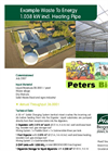 Example Waste To Energy 1.038 kW incl. Heating Pipe Brochure (PDF 391 KB)