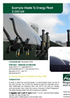 Example Waste To Energy Plant 2.000 kW Brochure (PDF 501 KB)