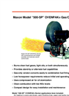 Maxon Model 500-SP OVENPAK Gas/Oil Burners Brochure