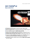 Oxytherm LE Gas or Oil Burners Brochure