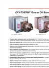OXY-THERM Gas or Oil Burners Brochure