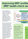 MRF - Health Check Service – Brochure