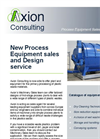 Process Equipment Sales & Design Service – Brochure