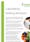 Laboratory Testing Services – Brochure