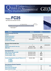 Model FC25 - High Performance Drainage Composite- Brochure