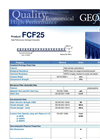 Model FCF25 - High Performance Drainage Composite Brochure