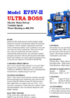 AquaMiser Ultra BOSS - Model E75V-II - Brochure