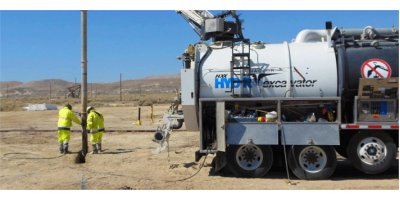 Vactor - Model HXX MS - Mid-Size and Fan Hydro Excavator