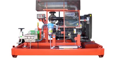 PTC - Model MP&HP - Medium-High Pressure Water Jetting Units