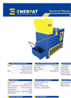 Enerpat - Model GWS2525 - Non-Metal Shredder - Datasheet