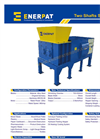 Enerpat - Model MSB-22 - Two Shaft Waste Shredder - Datasheet