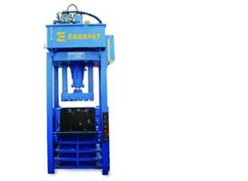 ENERPAT - Model lifting chamber - Waste Textile Baling Press