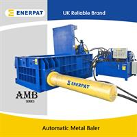 Enerpat - Model AMB4040 - Automatic Scrap Metal Baler