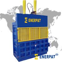 ENERPAT - Model CB1000 - Hydraulic Waste Cardboard baling press