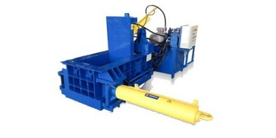 Enerpat - Model AMB2525 - Automatic Scrap Metal Baler