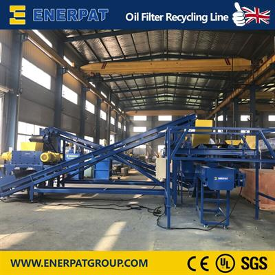 ENERPAT - Model MSB-22 - Oil Filter Shredding Line
