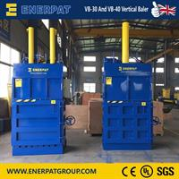 Enerpat - Model VB-50 - Vertical Waste Paper Baler