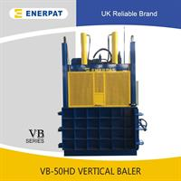 ENERPAT - Model VB-50HD - Hydraulic Waste Cardboard baling press