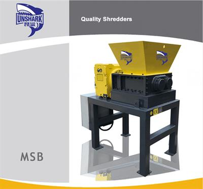Enerpat - Model MSB Series - Hard Drive Shredder