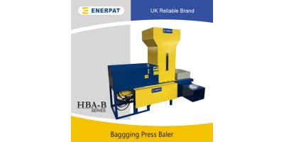 Enerpat - Model HBA-B60 - Wood Shavings Baler,wood shaving baling machine,wood shaving baling press