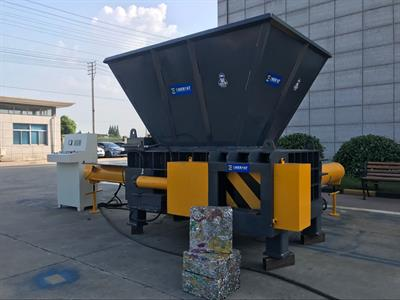 Hopper Type Tin Can Baler, Tin Can Compactor-2