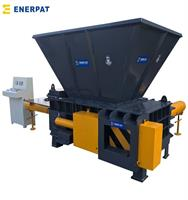 ENERPAT - Model AMB-H - Hopper Type Tin Can Baler, Tin Can Compactor