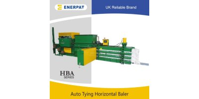 Model HBA-400S - Automatic Horizontal Cardboard Baler
