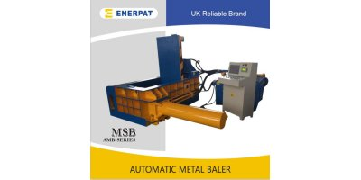 Model AMB3030 - Automatic Metal Baler