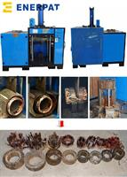 Enerpat - Model MSR-4 - Motor Stator Copper Coils Recycling Machine,Motor Rotor Copper Coils Cutting Machine