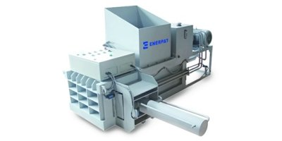 Enerpat - Model HBA-30M - Manual Wood Shaving Baler