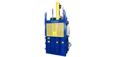Enerpat - Model VB-63 (500-550Kgs) - Vertical Scrap Baler