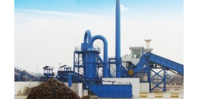 Enerpat - Model SSL1500 - Scrap Metal Recycling Plant