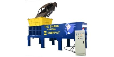 Enerpat - Model MSB-110 - Scrap Car Shredder
