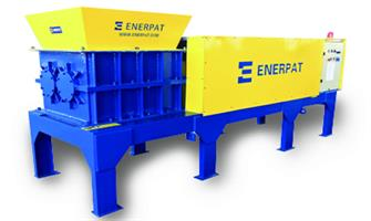 Enerpat - Model MSB-74 - Two Shaft Waste Shredder