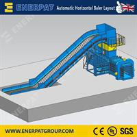 Enerpat - Model HBA150-110130 - Waste Paper Baling Press
