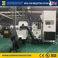 Enerpat - Model VBM-250 - Aluminum Swarf Briquetting Press Machine