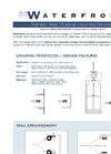 Channel Mounted Penstock Datasheet